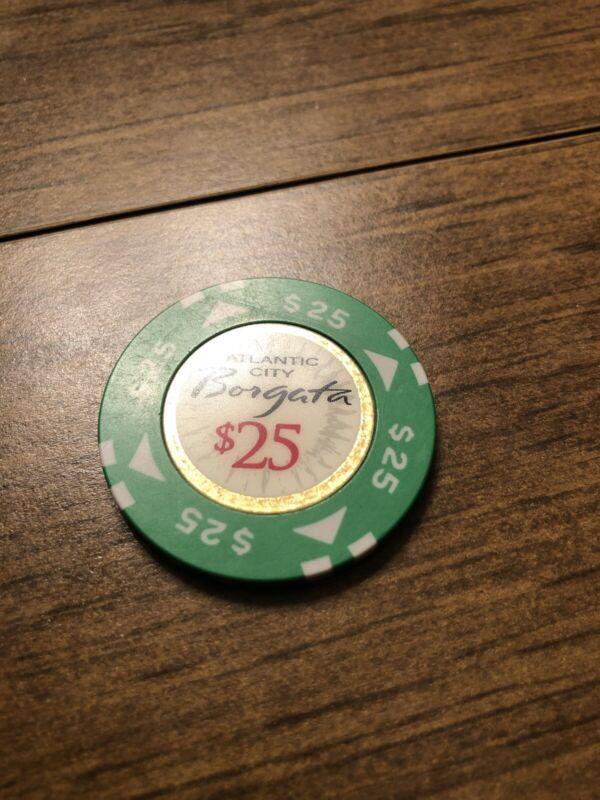 $25 borgata atlantic city  casino chip shipping is 3.99