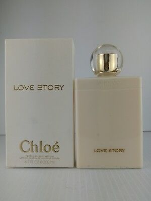 CHLOE LOVE STORY PERFUMED BODY LOTION 6.7 oz New In Box