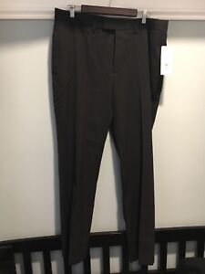 NEW Kenneth Cole men's black dress pants PRICE REDUCED
