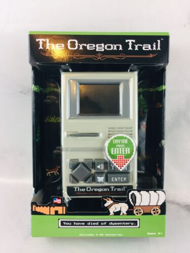 Computer Games - The Oregon Trail Classic Computer Handheld Game