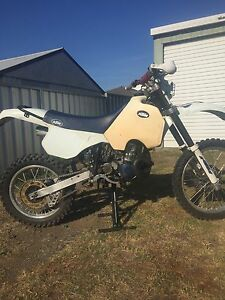 Ktm 350 gs 1987 Vinduro vmx classic bike swap for te610 xr600 Husaberg East Branxton Cessnock Area Preview