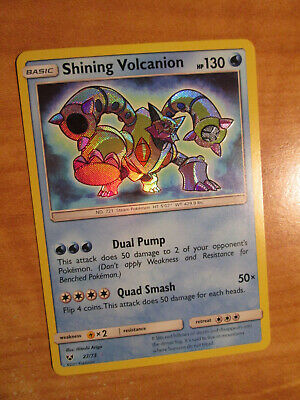 NM Pokemon SHINING VOLCANION Card LEGENDS Set 27/73 Sun and Moon SM Ultra Rare