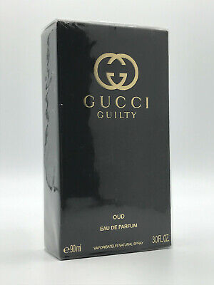 GUCCI GUILTY OUD POUR HOMME 3.0 OZ / 90 ML PARFUM SPRAY NEW IN SEALED BOX
