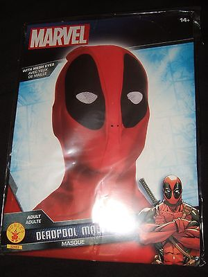 Marvel Comics Deadpool 2 Merc Face Halloween Mask Cosplay Disguise Wade Wilson