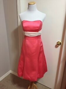 Coral Size 8 Alfred Angelo Dress