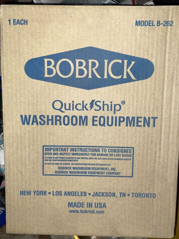 Bobrick B-262 Surface-Mounted Paper Towel Dispenser - Stainless Steel
