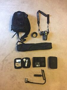 Canon rebel T3 with extra lens and carry case  Prince George British Columbia image 6