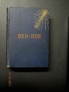 Ben-Hur Book 1880 Good Condition