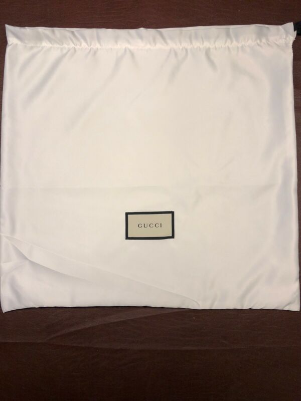 "New Authentic Gucci Dust Bag 15"" X 16"""