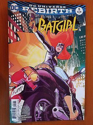 Batgirl # 5 DC Universe Rebirth (1st Print) Variant