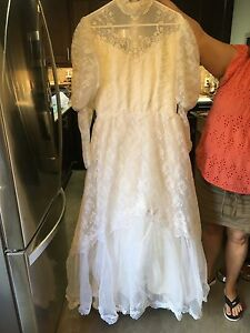 Wedding dress from 1986