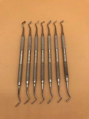 Dental Composite Filling Instrument Kit Restorative Spatula Plugger Art 100