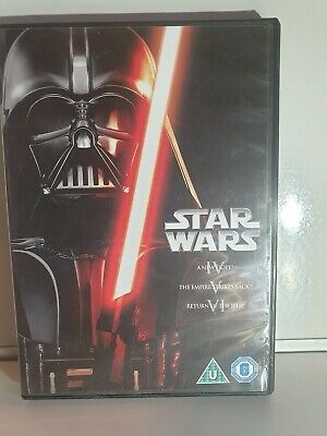 Star Wars - The Original Trilogy (DVD, 2013, 3-Disc Set, Box Set)Eps 4,5 & 6