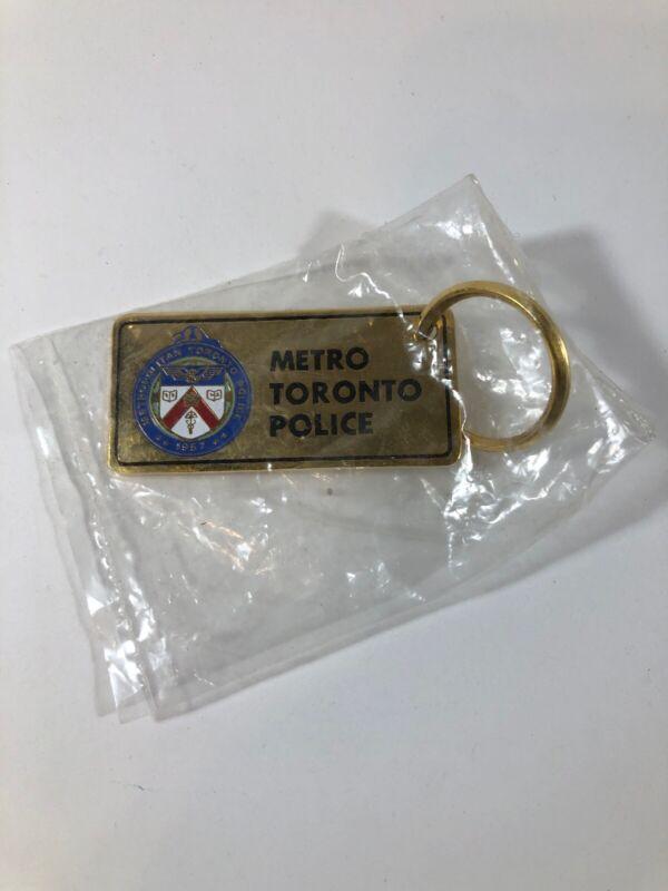 Metro Toronto Police Keychain