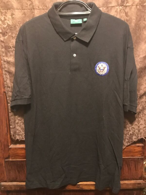 United States of America ~ Mens XL ~ DEPARTMENT of STATE  ~ 2 Button Polo Shirt