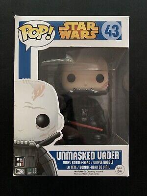 Unmasked Darth Vader - #43 - Star Wars - Vaulted - Funko Pop