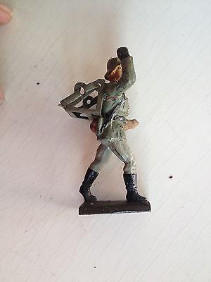 B149/    Lineol Soldaten Figur 2 Wk. von ca. 1935