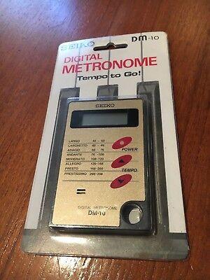 METRONOME DIGITALE , SEIKO DM-10 , NEUF EN