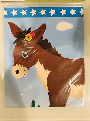 The Donkey Game (Pin the Tail on the Donkey Party Game with Self Stick Tails -12 Tails, 1)