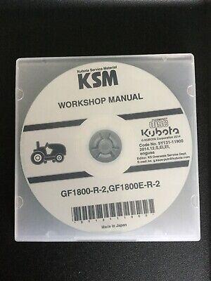 Kubota L2850Dt/R Tractor V1702 Engine Service Shop Manual Repair ...