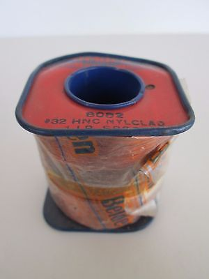 Nos Belden 8082 Magnet Wire 32 Awg Hnc Nylclad 1 Pound Full Spool Copper