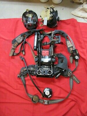 Scott 2.2 Nxg2 Scba Hud Cbrn Regulator Av3000 Mask Pass Alarm Rear Pak Lights
