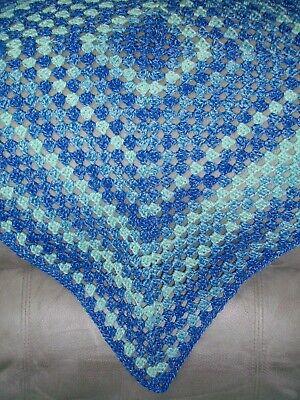 HANDMADE Crochet Baby Blanket Afghan - Nicole Picnic Yarn - Color Choice - NEW