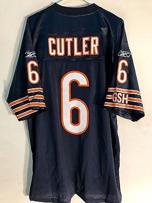 Reebok Premier NFL Jersey Chicago Bears Jay Cutler Navy sz 3X ()