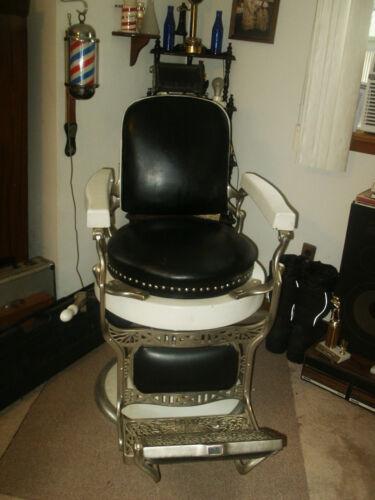 Barber Chair Antique Koken 1920