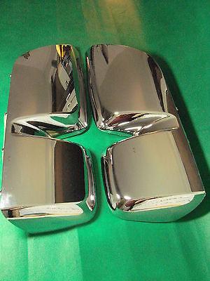2x Abdeckung Blende verchromt für Hauptspiegel MB Actros MP3 ab2008-2011