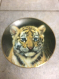 Collectible plates - cats
