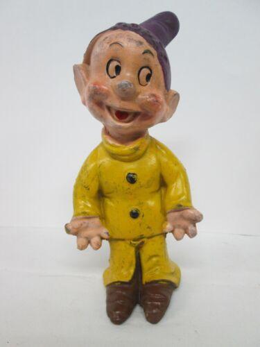 "1938, Disney, Snow White & 7 Dwarfs Figure ""DOPEY"", Seiberling Latex Products"