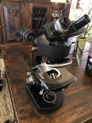 Wild Heerbrugg M20-50542 Microscope With 1.4x Vertical Illuminator And Head