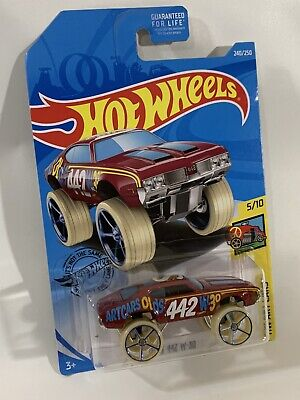 2019 Hot Wheels Olds 442 W-30 #240 [Red] HW Art Cars New