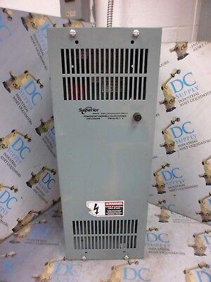 Superior Electric Pba30-no 1-4 240 Pri V 20 A Powerstat Variable Transformer