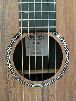 Martin LXK2 Acoustic Guitar With Shadow Undersaddle Pickup Wonderful