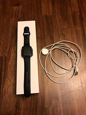 Apple Series 1 iwatch  - Space Gray 42mm
