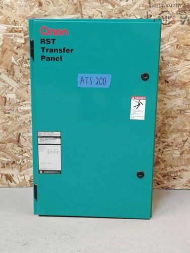 Cummins Onan 100 Amp ATS Automatic Transfer Switch 3 Phase Pole 240v 208v