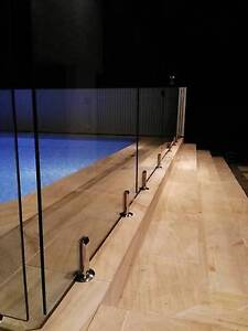 Frameless Glass Pool Fencing Frm $158/m Supply & $292/m Installed