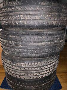 Tires with rims 195/65/R15 pneus d'ete avec les jantes