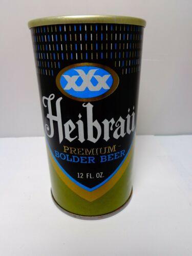 HEIBRAU BOLDER STRAIGHT STEEL PULL TAB BEER CAN #74-28  BALTIMORE, MARYLAND