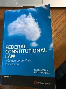 Federal Constitutional Law Armidale Armidale City Preview