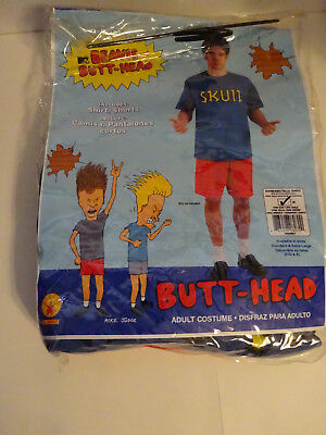 MTV Beavis and Butt-Head Butt-Head Adult Costume Size M (Standard) (Mtv Costumes)