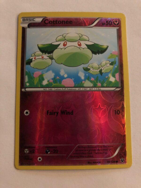 Cottonee 90//145 SM Guardians Rising REVERSE HOLO Pokemon Card NEAR MINT