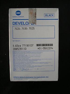 Original Konica 950237 7020 7030 7025 Developer Entwickler schwarz 650gr.
