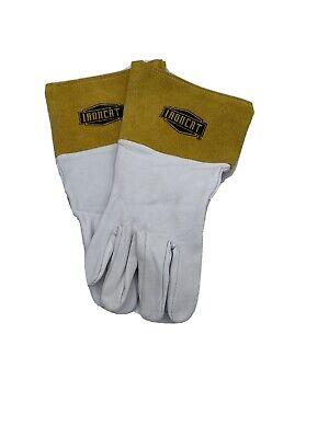 Ironcat Whitegold Welding Gloves Model 6141 Medium New No Packaging