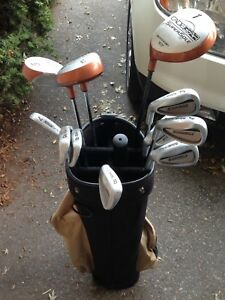 Cadie Gear LH Golf Clubs and Bag