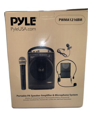 "Pylepro - 6.5"" 60w Portable Bluetooth Pa System - Black"