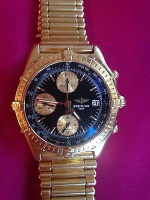 Breitling Chronomat Chronograph Automatic 18K Gold K13047X