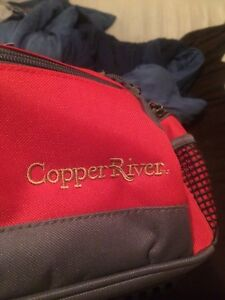 Copper River Tackle fishing box with lures